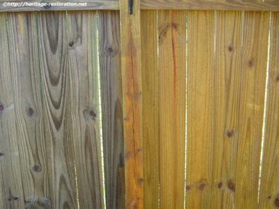 Vinyl & Wood Fence Cleaning Middletown NJ